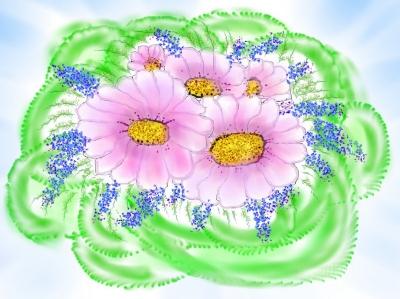 Любимые цветы | Букет для мамы