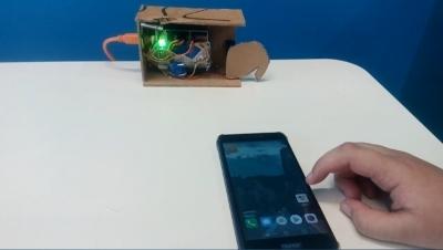 Разработка дистанционного  Bluetooth замка
