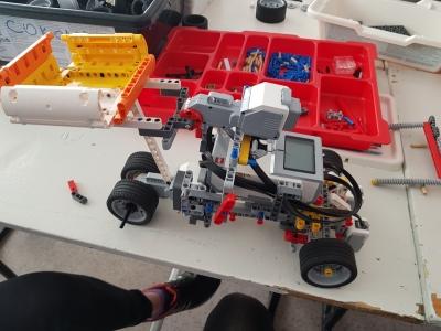 Модель беспилотного карьерного грузовика