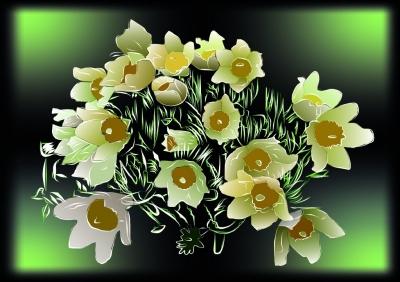 Любимые цветы | Чернышева Ксения, 13 лет, Магнитогорск