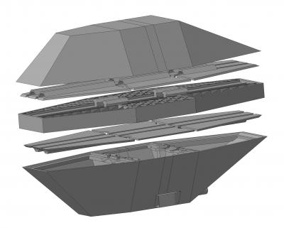 Беспилотный плавательный аппарат