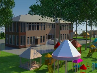 Проектное предложение по частичной реконструкции детского сада № 74