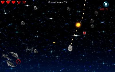 Игра-шутер с космической тематикой