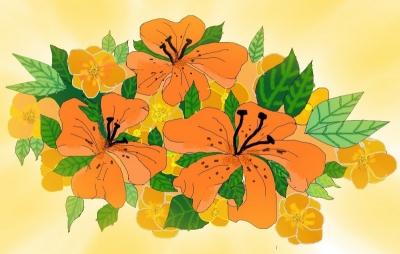 Любимые цветы | Бабушкины лилии