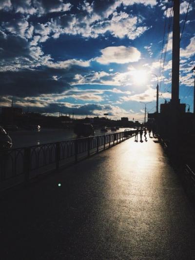 Городской пейзаж | Дорога
