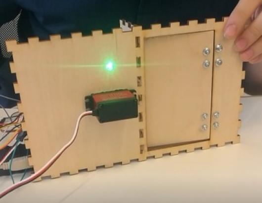 NFC замок для двери