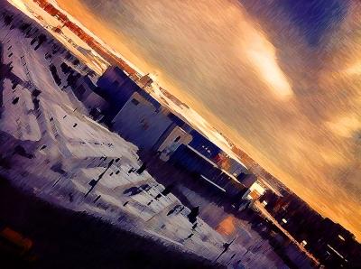 Городской пейзаж | Арена Металлург