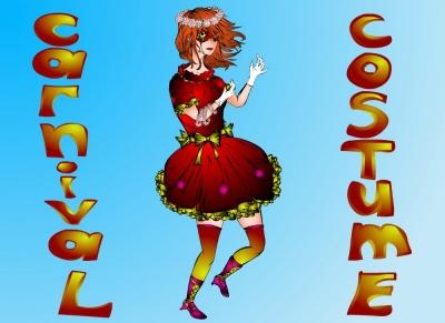Дизайн Карнавального костюма | Костюм средневековой девушки