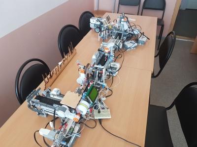 Моделирование автоматизированного участка производства