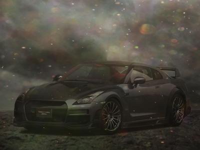 Дизайн спортивного автомобиля | Nissan GTR35