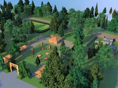 Проект левобережного парка «Эколёнок»
