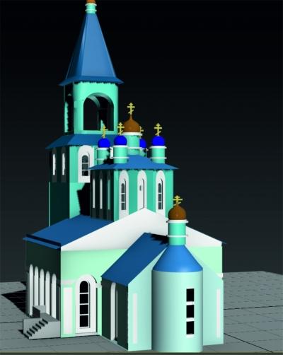 Церковь на территориии Ашинского заказника