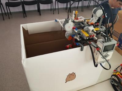Автоматическая сортировка мусора