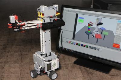 Создание робота-манипулятора с многоуровневой системой управления и модулем визуализации