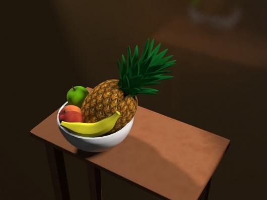 Чаша с фруктами