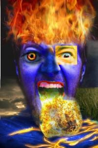 Огненный человек