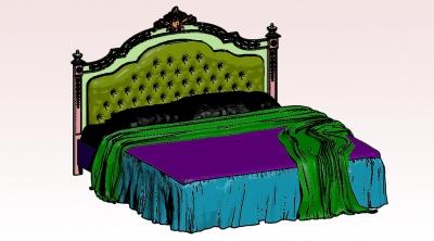 Дизайн предметов интерьера | Кровать