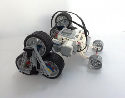 Робот-вездеход на дистанционном управлении для нужд МЧС