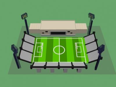 Спортивный стадион парка «Притяжение» г. Магнитогорска