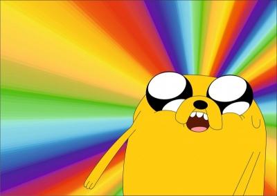 Мой любимый мультипликационный персонаж | Джейк из Adventure Time