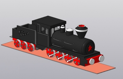 Первый паровоз ММК