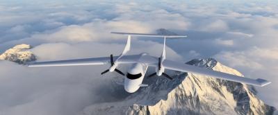 Гибридный самолет будущего
